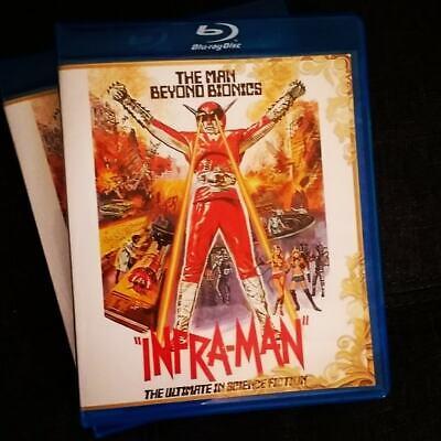Super Inframan 1975 Shaw Bros English Subtitled Region Free Bluray