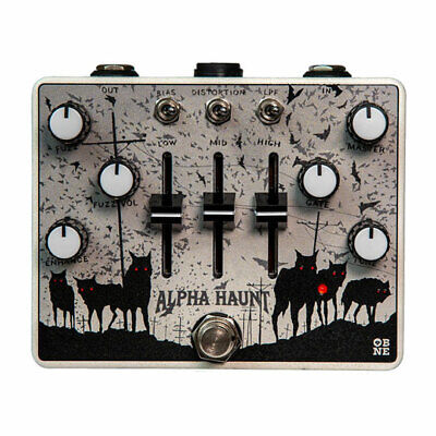 Old Blood Noise Endeavours - Alpha Haunt Fuzz, 3-band active master EQ sliders,