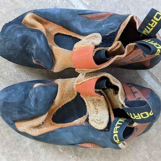 Kid climbing shoes la sportiva size 37