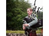 Wedding Bagpiper - George Hill (Aberdeen/Aberdeenshire)
