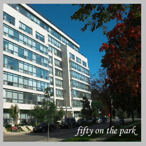 1 bedroom + den + dining  at  Fifty on the Park