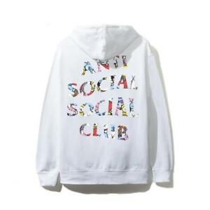 3724b8daef66 ASSC x BT21 White Hoodie Anti social social club - small