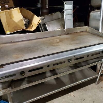Imperial 6 Foot Flat Top Grill With Stand