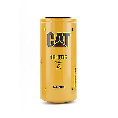 Caterpillar 1r0716 Engine Oil Filter 3406 C15 Genuine Oem Standard Efficiency