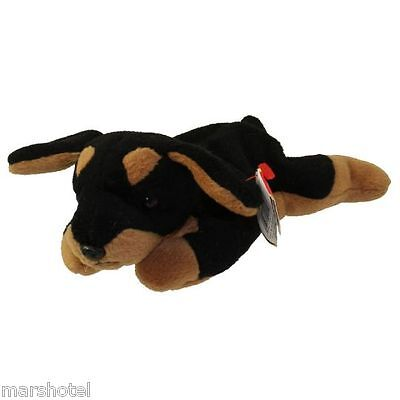 TY DOBY THE DOBERMAN DOG BEANIE BABY 5TH GENERATION HANG TAG BEANIE BABIES be228148c4a3