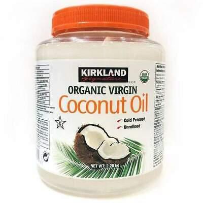 Aceite de Coco Virgen Orgánico 2.28kg Para Cocinar Aplicar Piel y el...