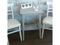 Grey Lamp Table