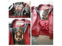 Leather Jacket (AVIREX)
