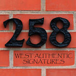 258 West Authentic Signatures