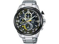PULSAR SEIKO SOLAR POWER MENS CHRONOGRAPH WATCH. FULLY BOXED AS NEW UNMARKED CONDITION.