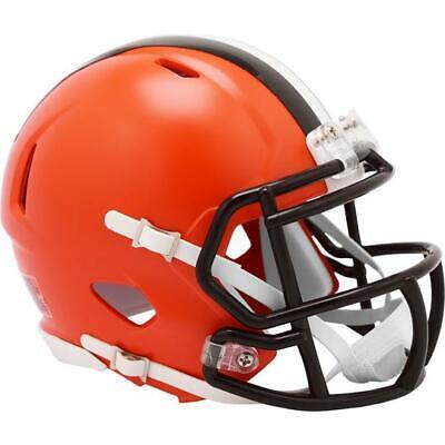 CLEVELAND BROWNS 2020 Riddell NFL Mini Speed Football Helmet