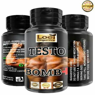 Testo Bomb Anabolic Extreme Anabolic Legal Testosterone Booster 60 Day 600 MG.