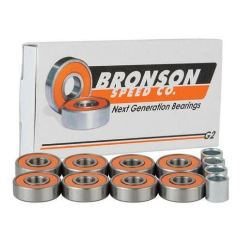 Bronson Speed Co G2 Skateboard Bearings Set Of 8