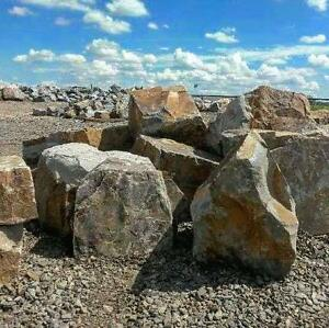 Natural Stone Delivery for Construction & Landscaping!