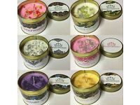 Long burning candles on offer £7