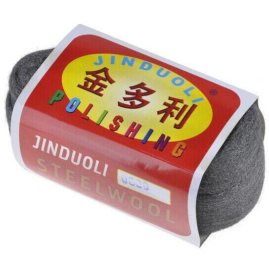 110g Super Fine Steel Wool 0000# Grinding Polishing Cleaning