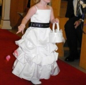 David Bridal Flower girl dress