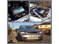 2004 astra coupe turbo fully forged over 300 bhp