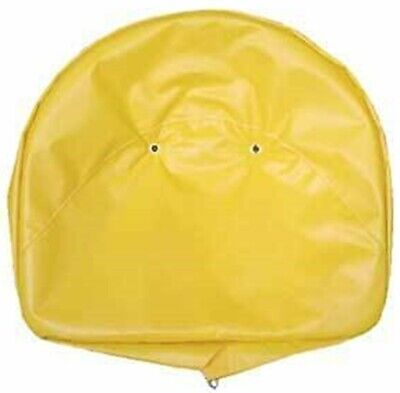 Universal 19 Tractor Yellow Pan Seat Cover Cushion