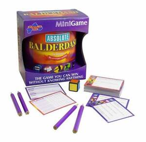 Absolute Baulderdash Mini Board Game - brand new Prospect Prospect Area Preview