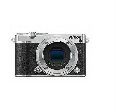 New Nikon 1 J5 Mirrorless Digital camera Only Body - silver