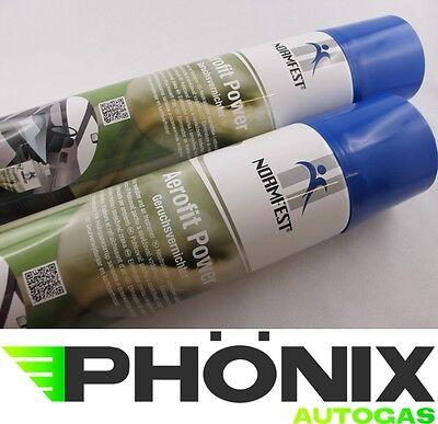 2x Normfest Aerofit Power Geruchsvernichter Lufterfrischer 400ml