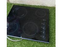 Electric intergrated oven and hob