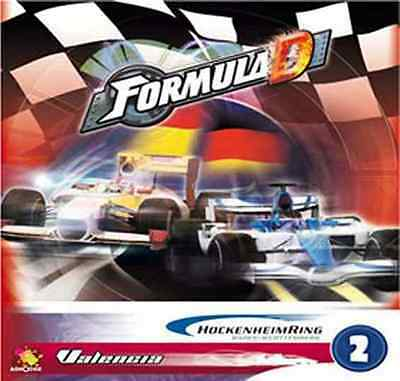 Formula D Board Game: Circuit 2 - Hockenheim & Valencia