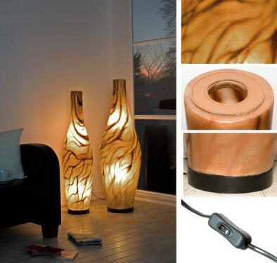 Exklusive Fiberglas Design Stehlampe, Stehleuchten modern, neu in ...