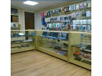 Shop and flat to let rent in Darwen main road position