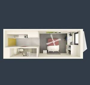Large Studio Apartment Fully Furnished Available immediately Carlton Melbourne City Preview