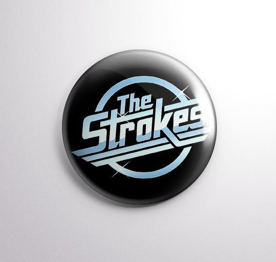THE STROKES -  Pinbacks Badge Button 25mm 1