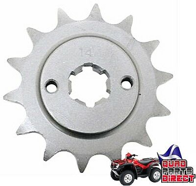 NEW STEEL FRONT SPROCKET 14 TOOTH FOR YAMAHA YFS 200 BLASTER