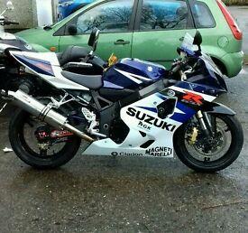 Suzuki gsxr 750 k4 (low miles)sold sold sold