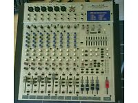 Alto L12 - 12 channel live sound mixer with effects