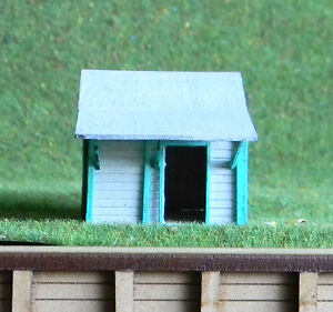 Ho scale building NSWGR bush stop station
