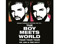 2x Drake standing tickets, Valentine's Day Tuesday 14th February, London O2 Arena
