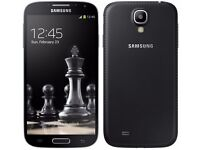 Samsung Galaxy S4-16GB Black (Unlocked) in good condition