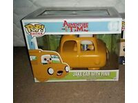 Adventure time jake car with finn funko pop