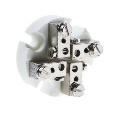 Ceramic Terminal Block (4 Way Ceramic Terminal Block for use with Terminal Block Head)