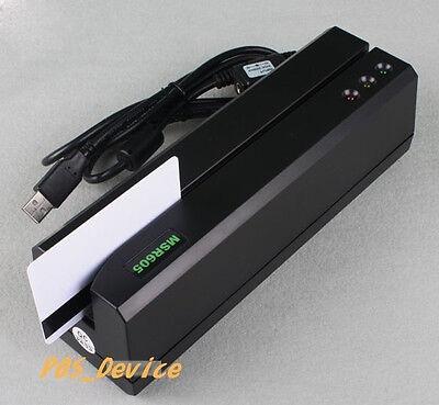 Msre206 Hico Magnetic Card Reader Writer Encoder 605606