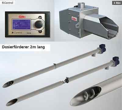 Pelletsbrenner PellasX Mini RC 2m  Pellets-kessel Pellets-heizung Pellets-ofen