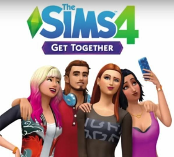 The Sims 4 Get Together (PC DVD) & MAC BRAND NEW