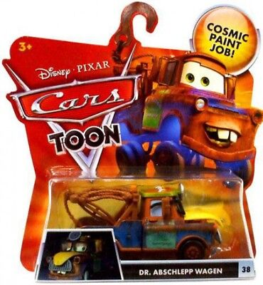 Mattel Disney Cars//The Best of Cars Toons//dlc85//DR MATER WITH Mask Up