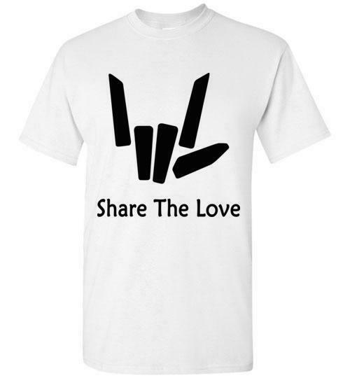 Share The Love t shirt Kids