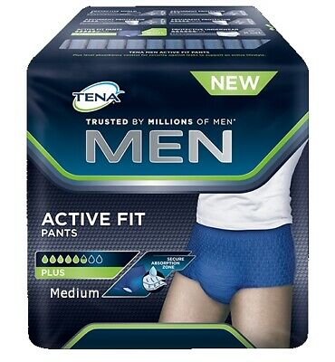 TENA MEN Active Fit Pants Plus Medium 12 ST