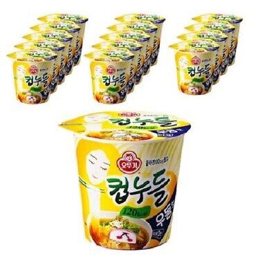 Ottogi Cup Noodles Udon-flavored Cup Ramen 38.1 g