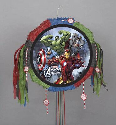 L1 Avengers Assemble Iron Man Hulk Pinata Party Game Brand New (Hulk Pinata)