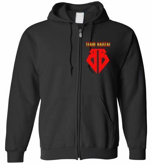 Buckaroo Banzai Team Banzai zip hoodie S M L XL 2XL 3XL 4XL 5XL