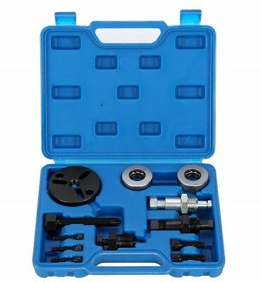 A/C Compressor Clutch Puller Remover Installer Installation Tool Kit US